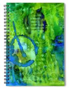 Hidden Blossoms Spiral Notebook