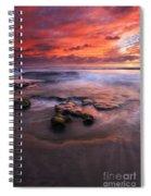 Hidden By The Tides Spiral Notebook