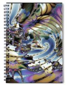 Hidden Chaos Of Order Spiral Notebook