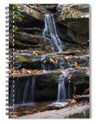Hidden Falls 3 Spiral Notebook