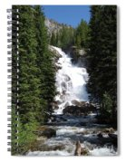 Hidden Falls Spiral Notebook
