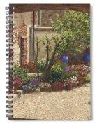 Hidden Garden Villa Di Camigliano Tuscany Spiral Notebook