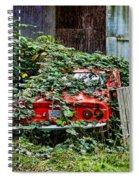 Hidden Opal Manta Spiral Notebook