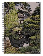 Hidden Pagoda Spiral Notebook