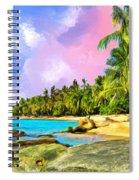 Hidden Paradise Spiral Notebook