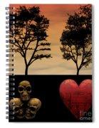 Hidden Roots Spiral Notebook