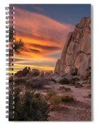 Hidden Valley Rock - Joshua Tree Spiral Notebook