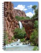 Hidden Waterfalls Spiral Notebook