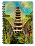 Hidden Zen Spiral Notebook