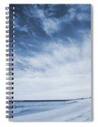 Higbee Beach Cyanotype Spiral Notebook