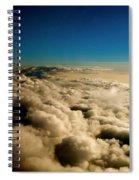 High Above Spiral Notebook