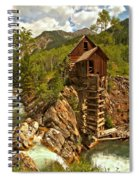 High Above The Crystal River Spiral Notebook