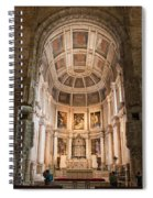 High Altar In Church Of Jeronimos Monastery Spiral Notebook