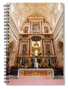 High Altar Of Cordoba Cathedral Spiral Notebook