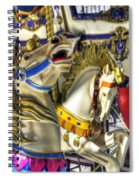 High And Boastful Neighs Spiral Notebook