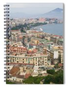High Angle View Of A City, Naples Spiral Notebook