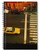 High Angle View Of Cars At A Zebra Spiral Notebook