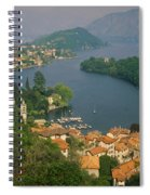 High Angle View Of Houses Spiral Notebook