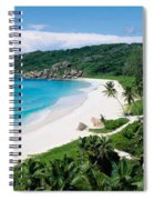 High Angle View Of The Beach, Grand Spiral Notebook