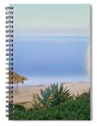 High Angle View Of Windansea Beach, La Spiral Notebook