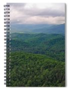 High Country 3 In Wnc Spiral Notebook