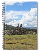 High Country Roundup The Old Days Spiral Notebook