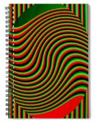 High Definition Color 5 Spiral Notebook