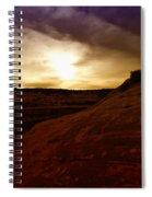High Desert Clouds Spiral Notebook