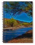High Desert River Bed Spiral Notebook