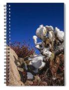 High Desert Snow 2 Spiral Notebook