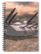 High Energy Lasers  Spiral Notebook