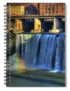 High Falls Rainbow Spiral Notebook