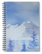 High Lake Spiral Notebook