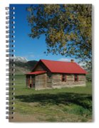 High Lonesome Ranch Spiral Notebook