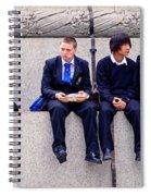 High Lunch Spiral Notebook