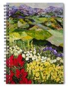 High Mountain Patch Spiral Notebook