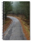 High Mountain Road Spiral Notebook