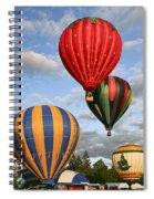 High On Hot Air Spiral Notebook