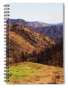 High Park Fire Burn Spiral Notebook