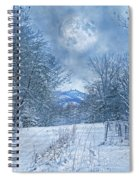 High Peak Mountain Snow Spiral Notebook