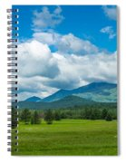 High Peaks Area Of The Adirondack Spiral Notebook