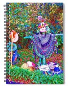 High Satch Scarecrow In A Hat Spiral Notebook