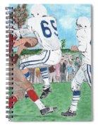 High School Football Spiral Notebook