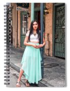 High School Senior Portrait French Quarter New Orleans Spiral Notebook