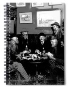 High Stakes Poker - 1913 Spiral Notebook
