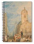 High Street - Edinburgh Spiral Notebook