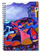High Tide Boars Head Nh Spiral Notebook