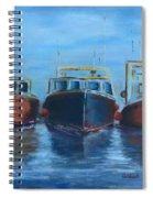 High Tide Breton Harbor Spiral Notebook