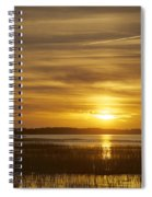 High Tide In The Marsh Spiral Notebook