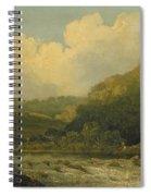 High Tor, Matlock, 1811 Spiral Notebook